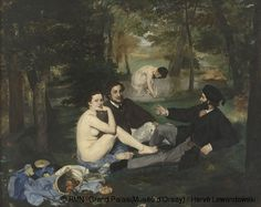 Édouard Manet (French 1832-1883) Le Déjeuner sur l'herbe (Lunch on the Grass), 1863, Oil on canvas