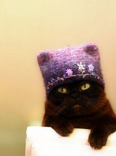 Thanks, Grandma, I love my new hat.  Really. Credit/Pinterest.