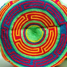 Limited Edition Wayuu Bag -With Braided Handles – SHOP WAYUU BAGS | Handmade by the Wayuu Tribe