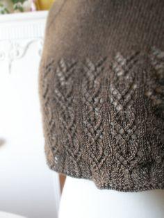 Free shawl pattern Yakbeere