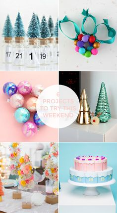 You, my friends, are in for a treat. For the next four Fridays, I'll have a new Friday favourites for you! You may have noticed that for some months now, Projects To Try, Friday, Christmas, Diy, Crafts, Xmas, Manualidades, Bricolage, Navidad