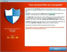 Cryptolocker - What you can do right now.