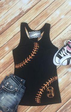 Youth Softball/Baseball Sister Shirt.Custom Number on Front.Baseball Tank.Little Sister. Girl Baseball Shirt. Youth Racerback Tank by TNTCustomApparel on Etsy