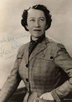Biography Flora Robson by Janet Dunbar Classic Actresses, British Actresses, Classic Films, Hollywood Actresses, Old Hollywood, Actors & Actresses, Music Theater, Theatre, Saratoga Trunk