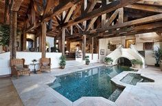 Spectacular Indoor Pool Homes photo