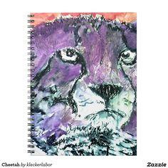 Gepard Notizbuch