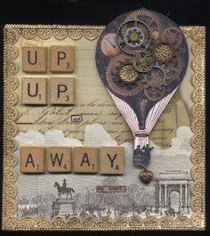 steampunk altered art....this is so cool!