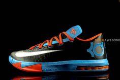 05c7ec2b7fc1b7 Nike KD VI Thunder Away Detailed Pictures Kd Shoes