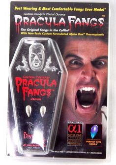 Dracula-Fangs-Thermoplastic-Custom-Designer-Plated-Chrome-Non-Toxic