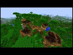 How to make a Minecraft JUNGLE Town! - YouTube