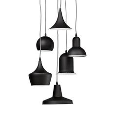 Stylish, Modern & Contemporary Hanging Lamps at affordable prices; Stylish Sauce. Black  Designer Kokoon Pengan ceiling light.