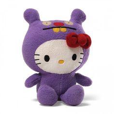 Hello Kitty Uglydoll Kitty as Trunko. The princess of the #Plushies