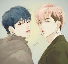 Cre on pic Winner Kpop, Mino Winner, Kpop Fanart, Yoonmin, Ikon, Bigbang, Fan Art, Drawings, Anime