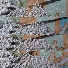 Cris Crochê com Amor: TOP CROPPED DE CROCHÊ COM PASSO A PASSO Crochet Halter Tops, Crochet Bikini Top, Bikini Pattern, Bikini Tops, Diy And Crafts, Crop Tops, Bikinis, Cotton, Image