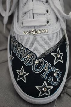 Dallas Cowboys Keds Dallas Cowboys Shoes Dallas by Touchofjoyshoes