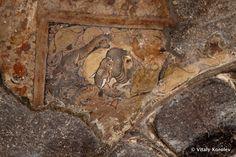 Paintings at Ellora Caves, India
