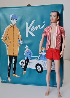 Barbie has an on-off romantic relationship with her boyfriend Ken (Ken Carson), who first appeared in 1961. A news release from Mattel in February 2004 announced that Barbie and Ken had decided to split up, but in February 2006 they were hoping to rekindle their relationship after Ken had a makeover.