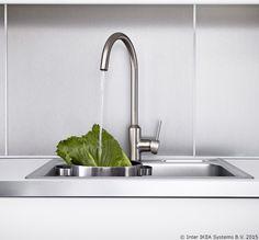 Kako bismo ti omogućili da razmišljaš dugoročno pri uređenju doma, sve naše slavine imaju 10-godišnju garanciju. www.IKEA.hr/slavine