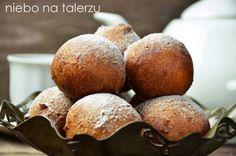 Szybkie pączki serowe Muffin, Baking, Breakfast, Sweet, Food, Morning Coffee, Candy, Bakken, Essen