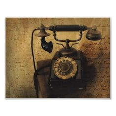 Old phones were art ... better add one to the house.