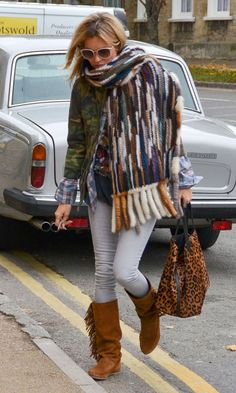 Kate Moss Out In Gloucestershire, 2012   Look