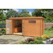 Outdoor Life Products Alpha 230 tuinhuisje / blokhut