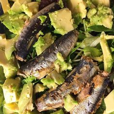 Is there anything better than #Avocado and #WildPlanet #Sardines?
