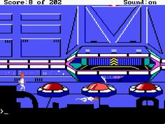 Space Quest 1...I used to own all 6 of these games....some of the best writing of all adventure games
