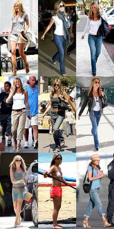 FASHION & STYLE Icons ♥ ♥ ♥ Jennifer Aniston ♥ ♥ ♥
