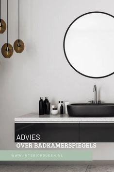 Spiegelkast of spiegelpaneel. Wat kies jij in de badkamer?   InteriorQueen Mirror, Bathroom, Furniture, Home Decor, Mirrors, Washroom, Decoration Home, Room Decor, Full Bath