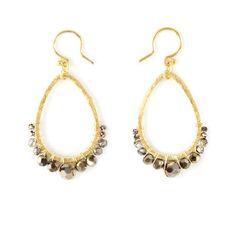 Chan Luu  ~ Teardrop Earrings
