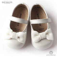 Παπουτσάκια για τα Πρώτα Βήματα με Satin Φιογκάκι Babywalker PRI2525