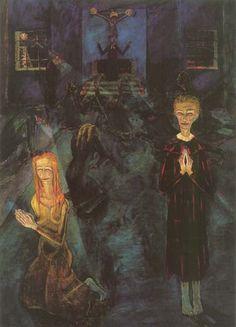 Walter Gramatté, Die Beichte, 1920