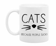 Coffee Mug Funny Cat Mug Gift for Pet Owner by TheCoffeeCorner