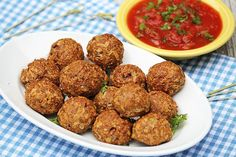 Vegetarian Meatballs (also known as neatballs!A brilliant new alternative to meat that is incredibly healthy and truly delicious Healthy Meats, Healthy Recipes, Healthy Foods To Eat, Healthy Cooking, Gluten Free Recipes, Healthy Eating, Cooking Recipes, Vegetarian Options, Vegan Vegetarian