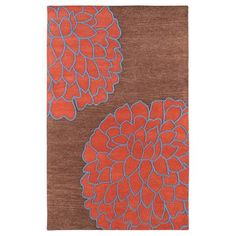 Artist Rug 8x11 Brown, $945, now featured on Fab.