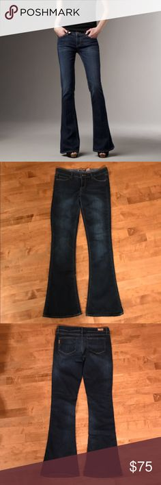 Paige Lou Lou Flare Jeans Size 29 Paige Lou Lou Flares size 29. My daughter wore these once, maybe twice so they are in excellent condition! No trades, 20% off bundles. Paige Jeans Jeans Flare & Wide Leg
