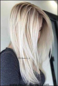 8.Blonde Lange Frisur | Haare | Pinterest | Frisur, Haar und Haarfarbe | Einfache Frisuren