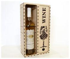Wine box Wood wine box Plywood wine box Vine box Wine | Etsy Box Wine, Wine Gift Boxes, Plywood Boxes, Laser Cutting, Wine Rack, Whiskey Bottle, Wine Glass, Canning, Etsy