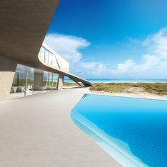 Beach House - Zaha hadid Dellis cay