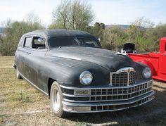 1946 Packard Hearse...