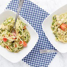 Recipe: Low-Carb Creamy Avocado Pasta