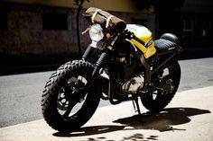 Herencia Rides Suzuki GS500 Cafe/Overlander