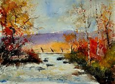 watercolor 212092, Pol Ledent