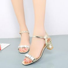 Women summer sandals new fashion buckle strap sexy women sandals open toe sandals square heel ladies shoes sapatos femininos