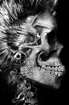 FANTASMAGORIK® ROCKYS SKULL by obery nicolas, via Behance