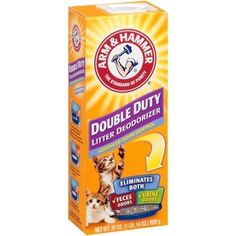 Arm  Hammer Double Duty Cat Litter Deodorizer 30 Oz * Check out the image by visiting the link.