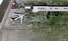 Ghostly 747 captured on Google Earth - You may have heard stories about ghostly World War Two aircraft appearing alongside modern airliners and frightening the living daylights out of passengers. Now it seems that even Google Earth could be picking up the supernatural essence of a Boeing 747 Jumbo Jet. The only clue is that it's sitting at the terminal of an airport in the United States, and the photo was taken in February 2007.