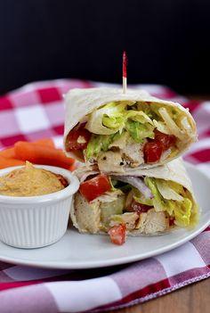 simpl lunch, wrap cake, eat food, salads, caesar wrap, chicken caesar salad wrap, iowa girl eats