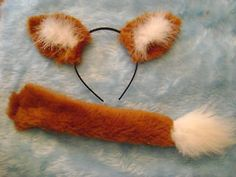 Fantastic Mr Fox Ears And Tail Set